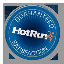 Hotrun Guarantee Logo